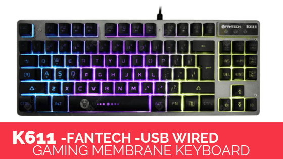 Fantech-K611-USB-Wired-Gaming-Membrane-Keyboard