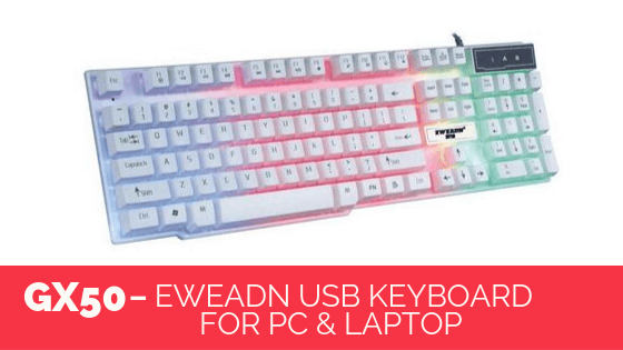 EWEADN- GX50 USB Keyboard For PC & Laptop